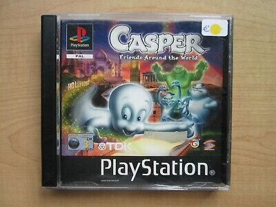 Playstation 1 - Casper Friends around the World - NO Manual INCLUDED