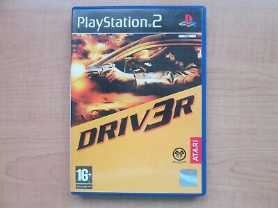 Playstation 2 - Driver - Manual INCLUDED