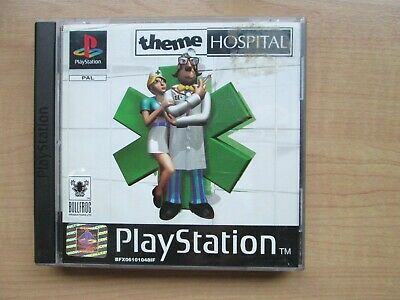 Playstation 1 - Theme Hospital - Manual INCLUDED