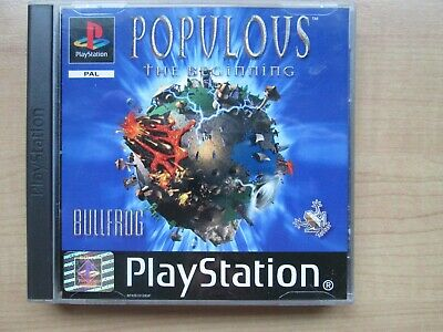 Playstation 1 - Populous The Beginning - Manual INCLUDED