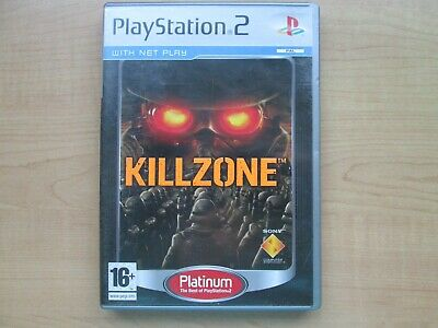Playstation 2 - Killzone - Manual INCLUDED