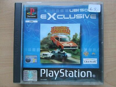 Playstation 1 - The Dukes of Hazzard - NO Manual INCLUDED