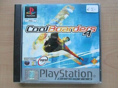 Playstation 1 - Cool Boarders 4 - Manual INCLUDED
