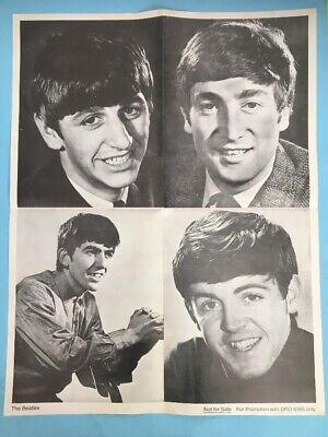 Beatles POSTER from With Love From Us To You (1962-65)
