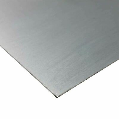 """1//8/"""" Aluminum 18/"""" x 18/"""" 5052 Sheet Plate with Vinyl PVC Coating one side"""
