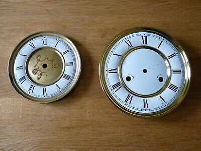 Two wall clock dials – Made in Germany – Vienna clock?