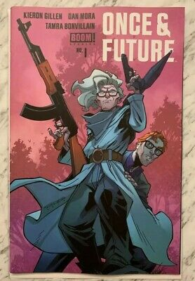 Once And Future #1 5th Print Variant High Grade New/Unread BOOM! Studios