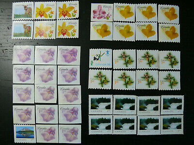 Uncancelled stamps no gum (lot of 45 stamps MIXED $47.36 face value)