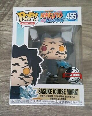 Funko Pop! Sasuke Curse Mark Naruto Shippuden #455 Exclusive