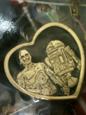 New C3PO & R2D2  Star Wars Episode 1 Return to the Beginning Hat or Lapel Pin