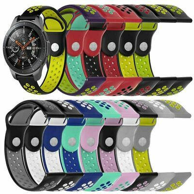 Replacement Bracelet Silicone Wristband Watch Band 22mm For Samsung Gear2 S3 USA