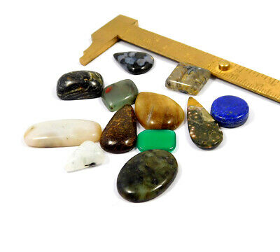 102 Cts. 100% Natural Lot Of Mix Stone Loose Cabochon Gemstone NG21126