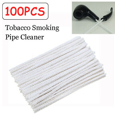 100pcs Intensive Cotton Pipe Cleaners Smoking Tobacco Pipe Cleaning Tool