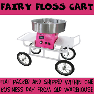 Fairy Floss Cart Carriage High Quality Great for Fetes Festivals Commercial Use