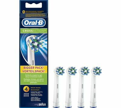 Braun Oral-B Cross Action Electric Toothbrush Replacement Brush Heads