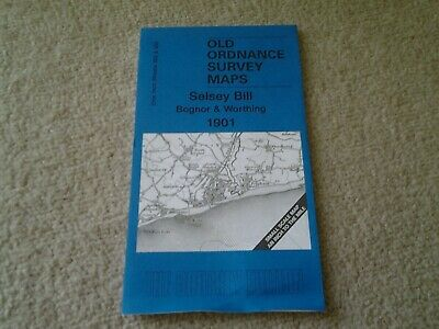 Old Ordnance Survey Map, Selsey Bill - Bognor and Worthing 1901, Godfrey Edition