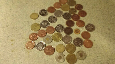 junk drawer lot of coin tokens