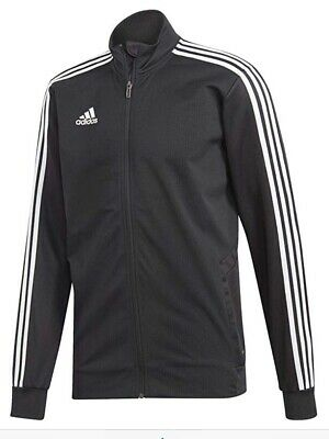 Men's Adidas Tiro19 Training Track Jacket, New Black White Size XL