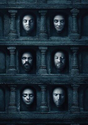 GAME OF THRONES TV Show PHOTO Print POSTER Series Cast Art Stark Lannister 009