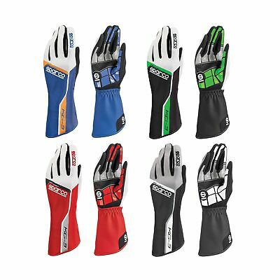 Sparco Track KG-3 Adults Go Kart Karting Race Racing Driving Gloves