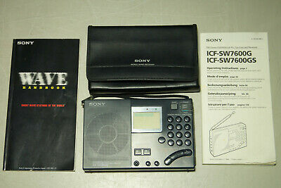 SONY ICF-SW7600G   . Made in Japan.