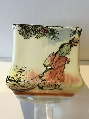 ROYAL DOULTON  VASE - THE GLEANERS  - D 6123 - 6cm