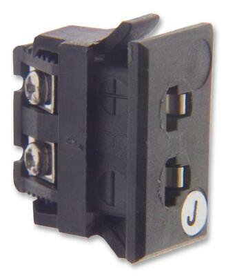 ANSI Miniature Panel Mount Socket, Thermocouple Type J, Black - LABFACILITY