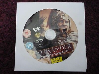 Alexander (DVD, 2005, Director's Cut) COLIN FARRELL*JARED LETO**DISC ONLY**