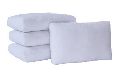 Box Wall Full Size Pillow with Spiralflex Fibres with Polycotton Cover