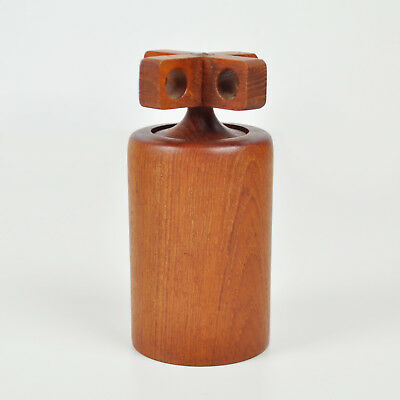 Birgit Krogh - Woodline Denmark BK - Vintage Teak Pepper Mill - Pepper Mill