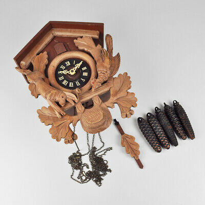 Cuckoo Clock - Regula Timepiece 25 - Schmeckenbecher - Wall Clock - West Germany
