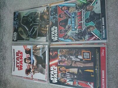 Disne Star Wars Topps Trading Cards And Binders