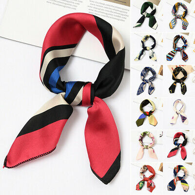 Women Scarf Ladies Scarf Hair Tie Band Decoration Fashion Casual Small