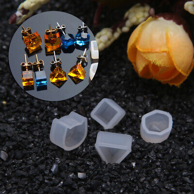 DIY Silicone Diamond Cone Mold Making Jewelry Resin Casting Mould Craft RS