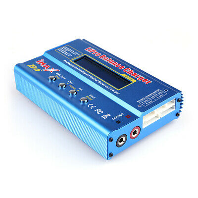 USA Dealer IMax B6 Digital LCD Lipo NiMh Battery balance Charger