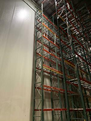 """Insulated walk-in panels refrigeration, freezing, freon, ammonia, 34 ft. X 43"""""""