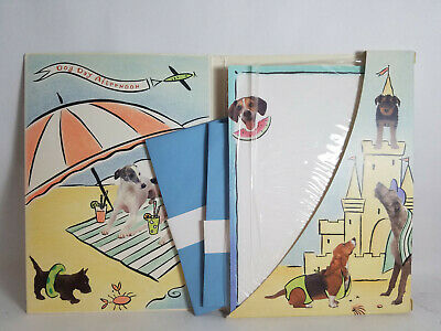 Dog Day Afternoon Stationery By Hallmark - PreOwned and in Good Condition