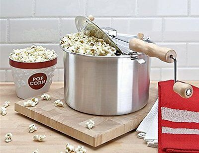 Machine Popcorn of Crank Model Vintage Retro Pop Corn
