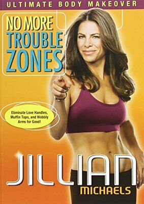 Jillian Michaels - No More Trouble Zones - DVD  SQVG The Cheap Fast Free Post