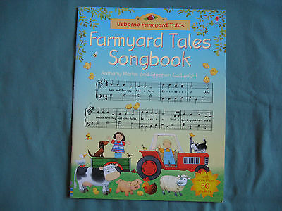 Usborne The Farmyard Tales Songbook Anthony Marks ISBN 9780746064825 NEW