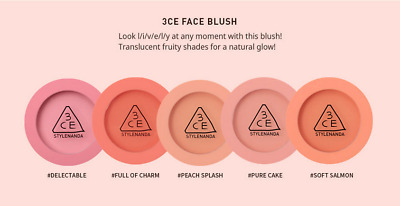3CE 3 Concept Eyes Face Blush Mood For Blossom Edition 3CE US Seller