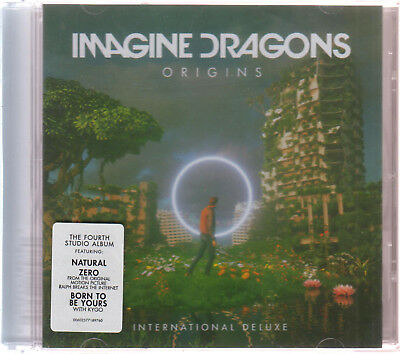 CD Imagine Dragons ORIGINS International Deluxe Edition CD NEW USA FAST SHIPPING