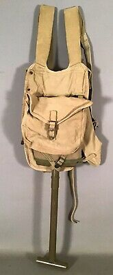1942 Original WWII G&R CO Old US ARMY M1928 HAVERSACK Backpack ENTRENCHING TOOL