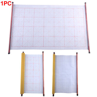 Mat Magic Water Writing Cloth Gridded Roll Practicing Chinese Calligraphy Useful