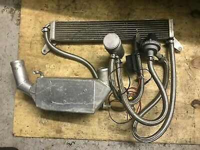 Escort Rs Turbo Pace Charge Cooler Setup