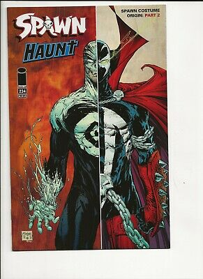 Spawn #234 Origin of Costume ~ 2nd part ~ McFarlane ~ Haunt ~ NM ~ actual scans