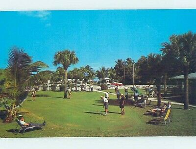 Pre-1980 GOLF AT MARINE VILLA RESORT Pompano Beach By Fort Lauderdale FL c4720