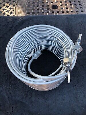 Jockey Box Stainless Steel beer cooling Coil - 120' - Right Hand Coil