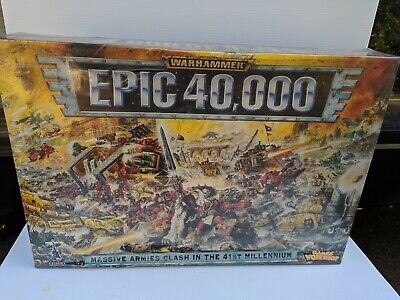Warhammer Epic 40k Boxed Game Still Sealed from 1997 MIB