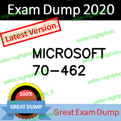 70-462 (MCSA Administering Microsoft SQL Server 2012/2014 Database Exam Dump PDF